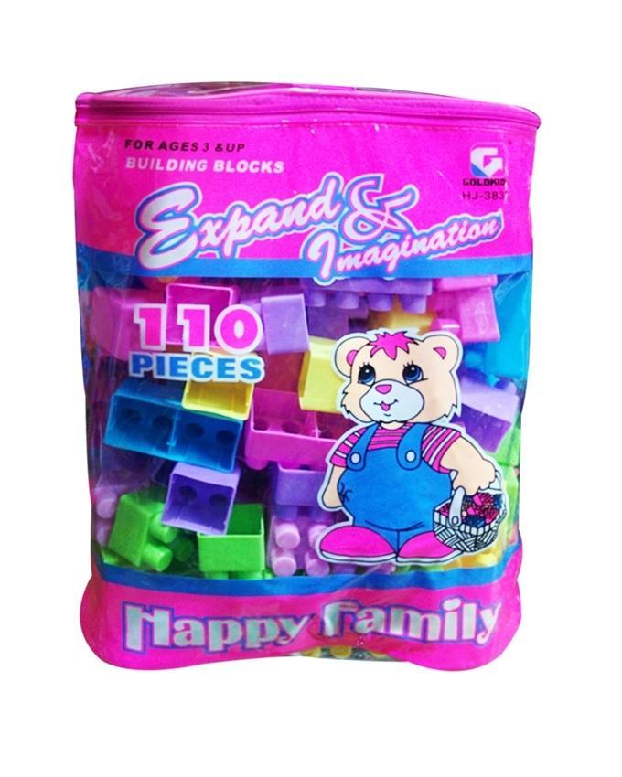 Pieces Building Blocks - 3832 - Multicolor