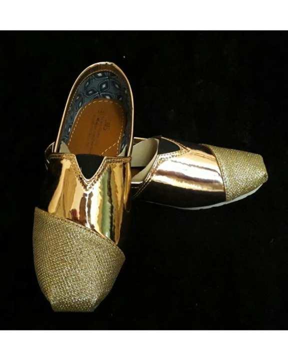 Rexine Lifestyle Shoes - For Men - Golden
