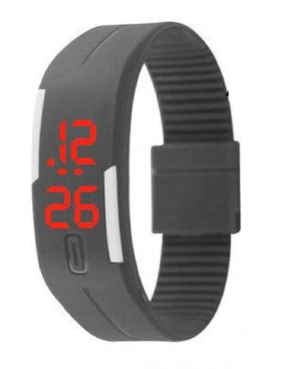 LED Sports Watch - Limited Edition - Grey - KKSF1333