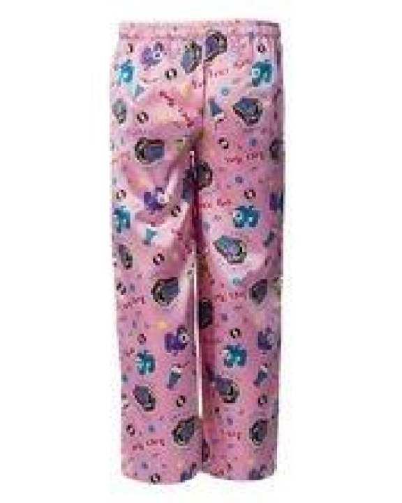 Pink Polyester Juke Box Printed Pajamas For Girls - GP 01