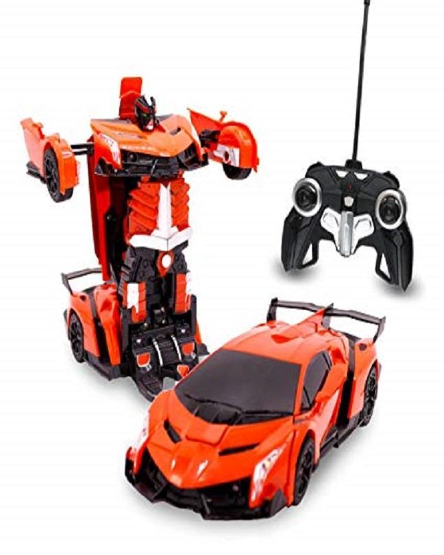 Rc Transformer Lamborghini Car Toy Remote Control