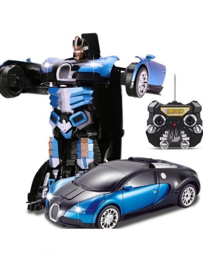 RC Bugatti Transformer - Blue