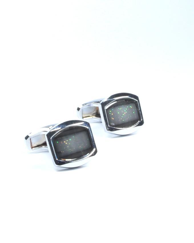 Silver Alloy Cufflinks for Men - CU-0157