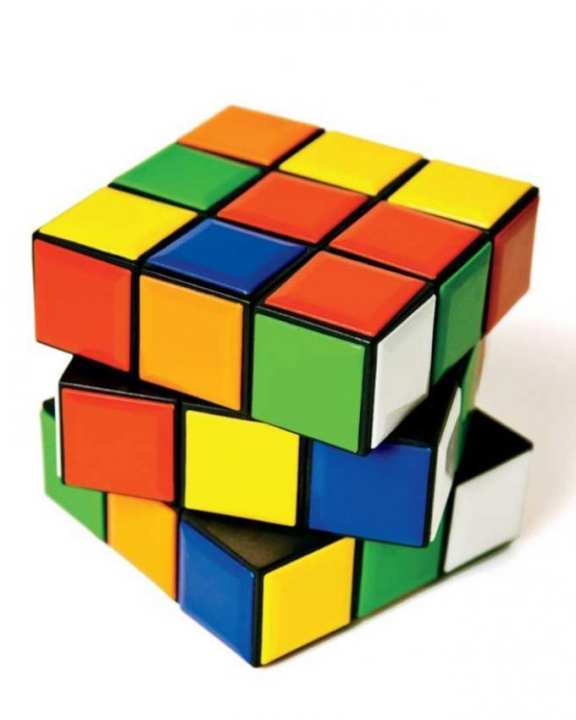 Rubik Magic Cube - Multi Color