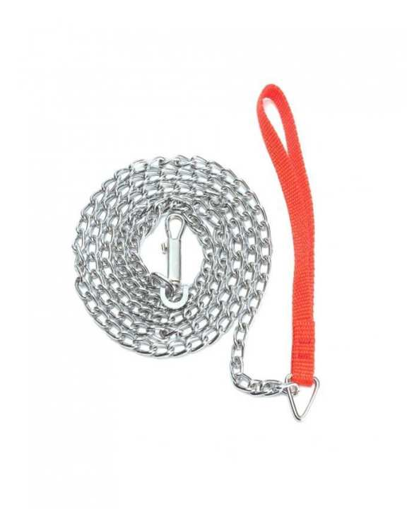 Heavy Duty Metal Chain Dog Puppy - Walking Lead