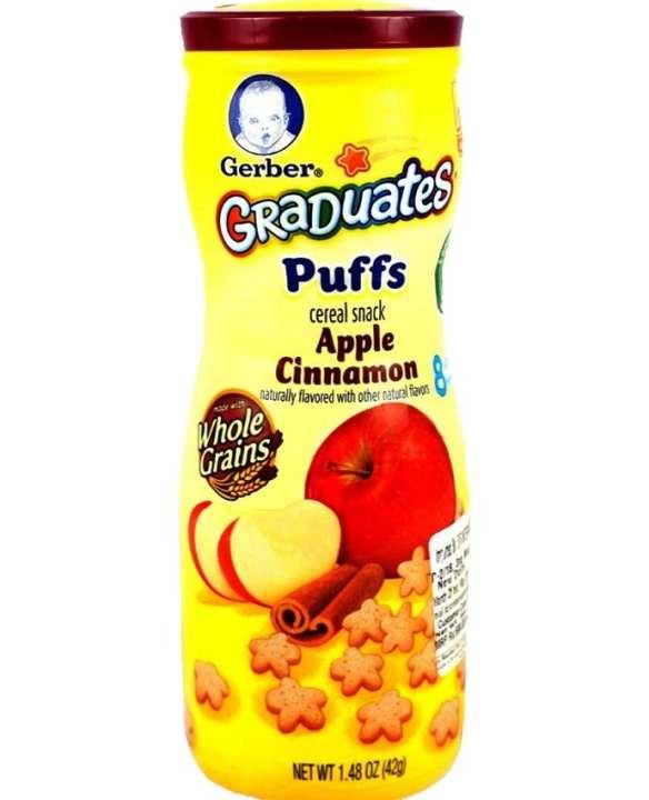 Graduates Puffs Apple Cinnamon