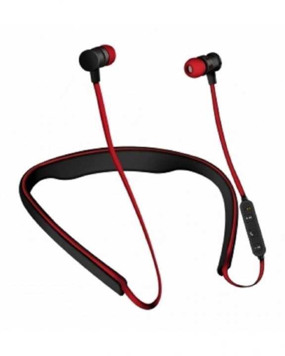 Wireless Active Earphone - Black & Red