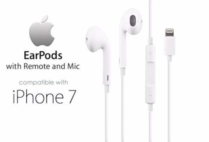 Original Apple Ear Pods With Lightning Connector Genuine for iPhone 7, 8 & X series