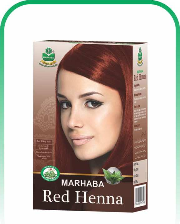 RED HENNA (PURE COLOUR) 75G