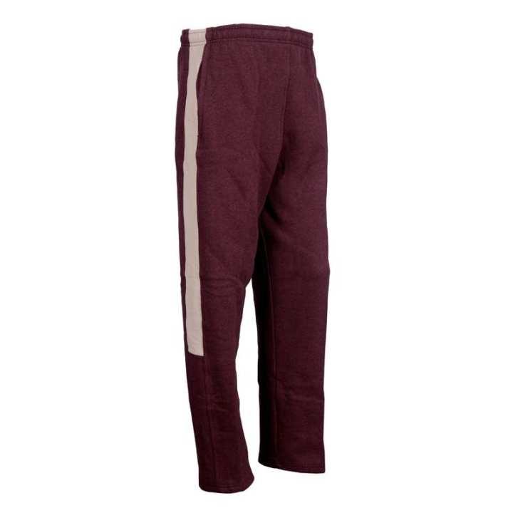 Maroon Cotton Fleece Trouser for Men - SB403