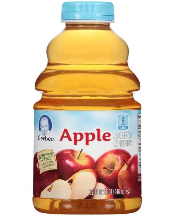 Gerber Apple Flavor Baby Juice 946ml
