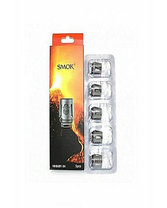 Pack Of 3 - V8 Baby Replacement Coil - X4 - Silver