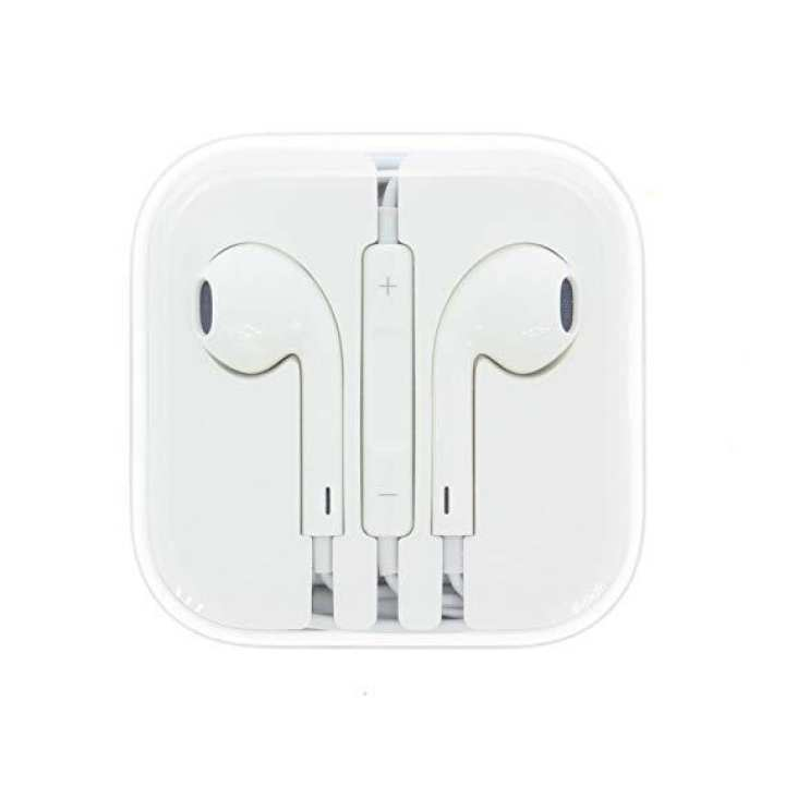 Apple Earpods headphones 3.5mm with Remote and Mic MD827LL/A - White