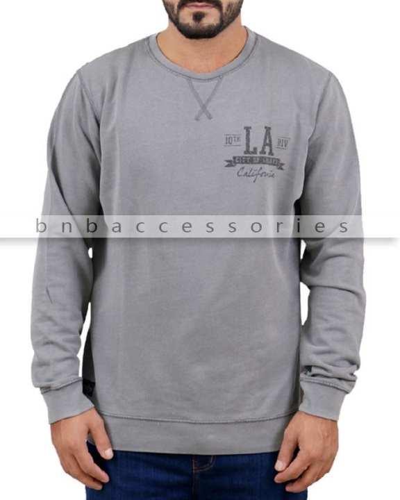 Threadbare LA Sweatshirt - Grey