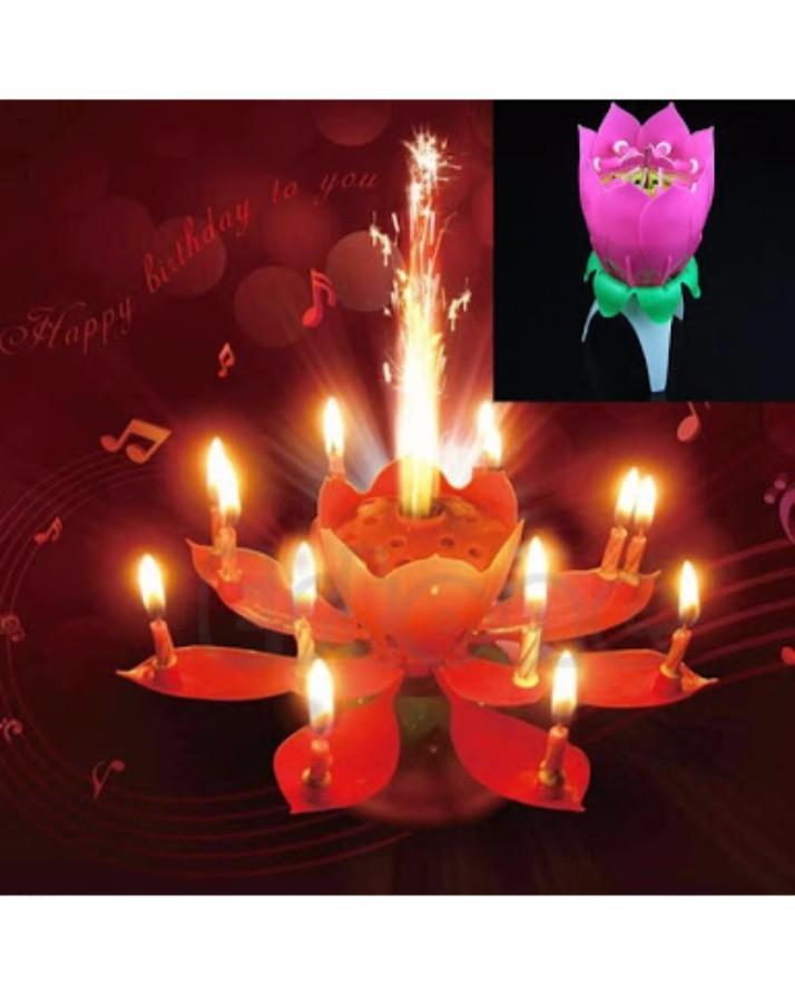 Happy Birthday Candle With Music Magical Sparklers Buy Online At Best Prices In Pakistan