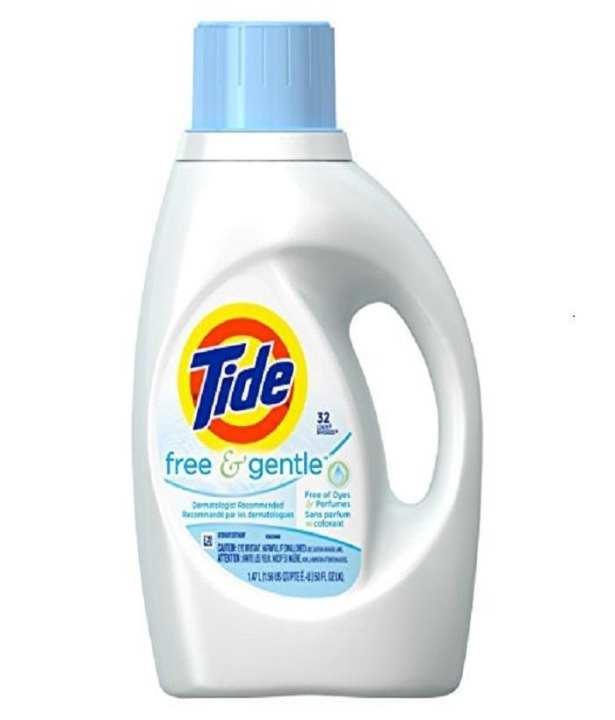 Tide Liquid Free & Gentle Unscented 50Oz