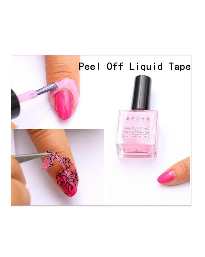 Peel Off Liquid Tape For Nail Art Buy Sell Online Best Prices In