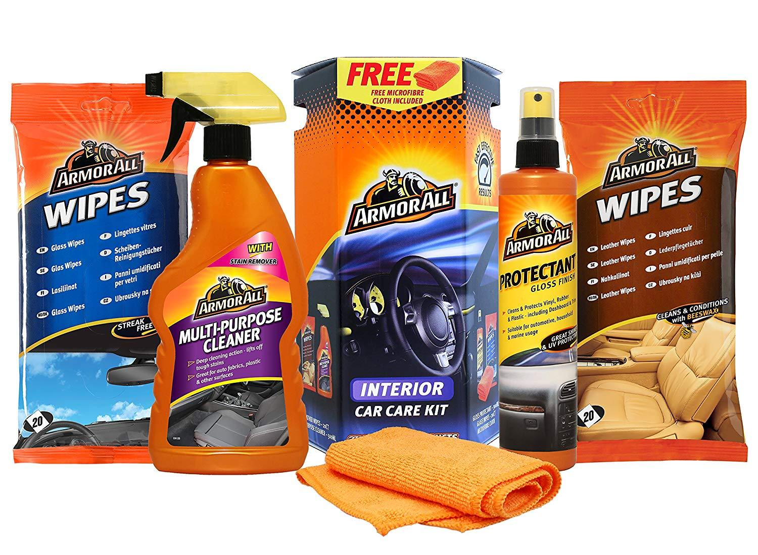 Armor All Car Care Products Online Store In Pakistan Kit Leather 275 Ml Interior Cleaning 5 Pcs