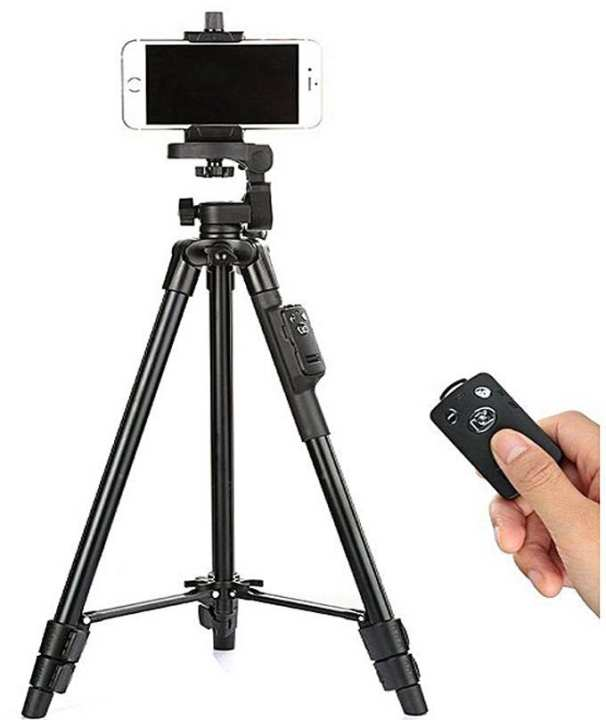 Vct-5208 Bluetooth Tripod For Smartphones And Dslr Camera