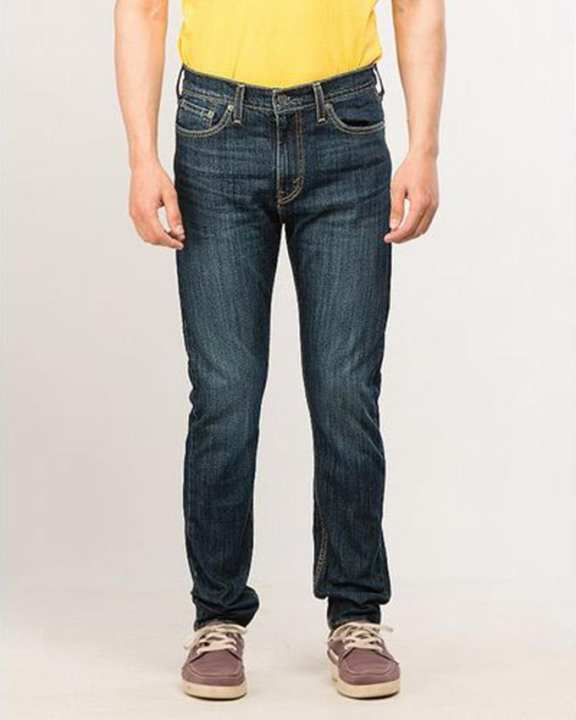 Multicolor Denim 510™ Skinny Fit White Bull Denim Wt Jeans For Men - Flash Sale Exclusive Online Price