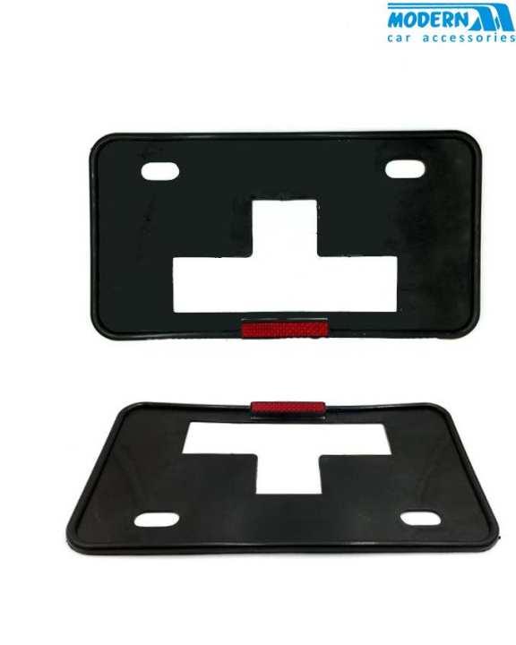 LED License Number Plate Frame - Pair