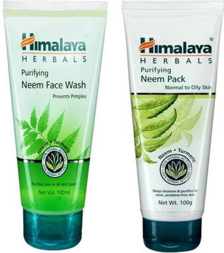 Indian Himalaya Purifying Neem Face Wash 50 Ml