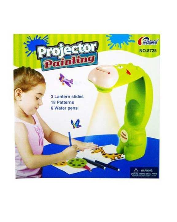 Projector Painting Set For Kids - Multicolour