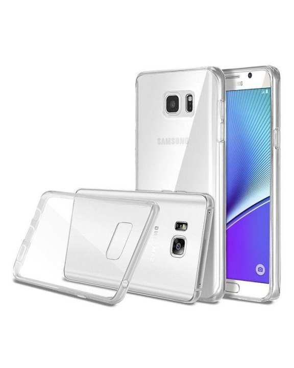 Jelly Case For Samsung Note 5 - Transparent