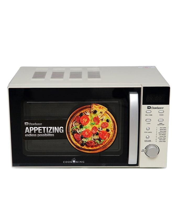 DW-298G-Grill Microwave oven - White