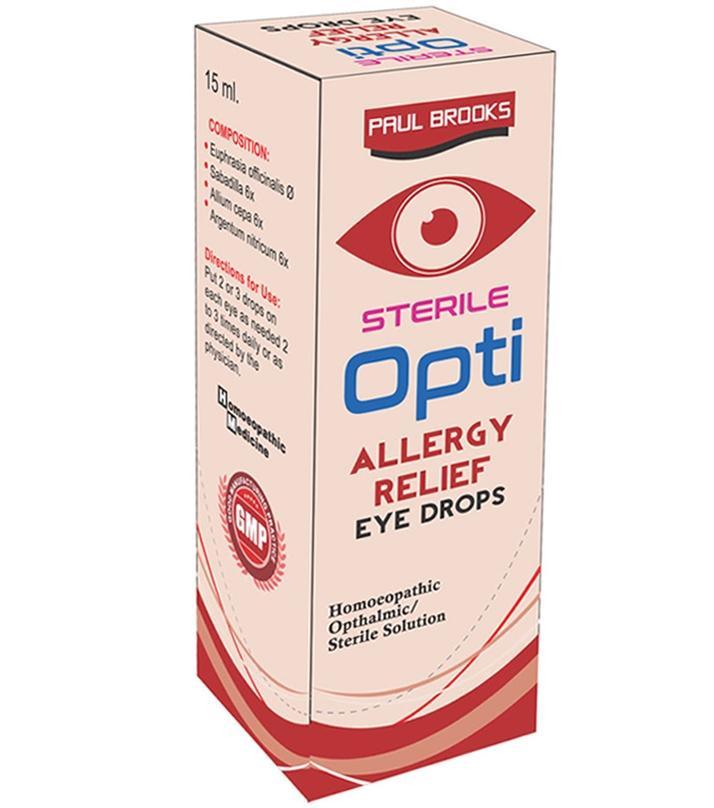 Eye Allergy Drops >> Opti Allergy Relief Eye Drops 15 Ml