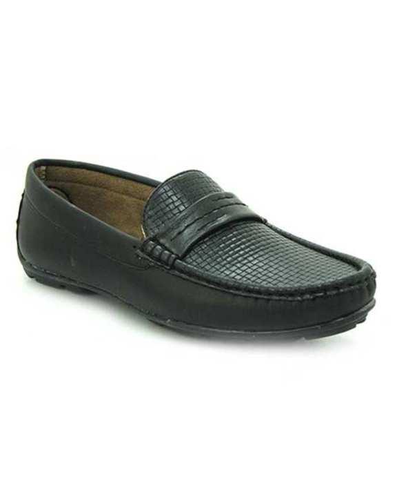Black Tpr Close Casual Shoes For Men