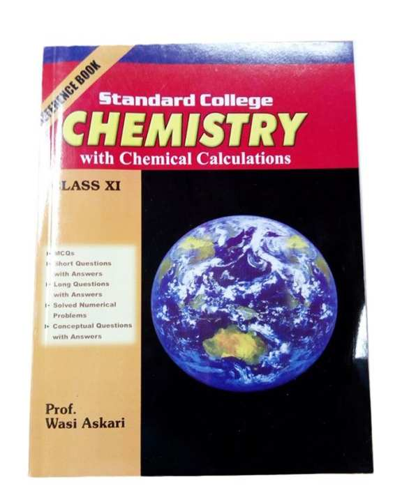 Standard College Chemistry For Class XI