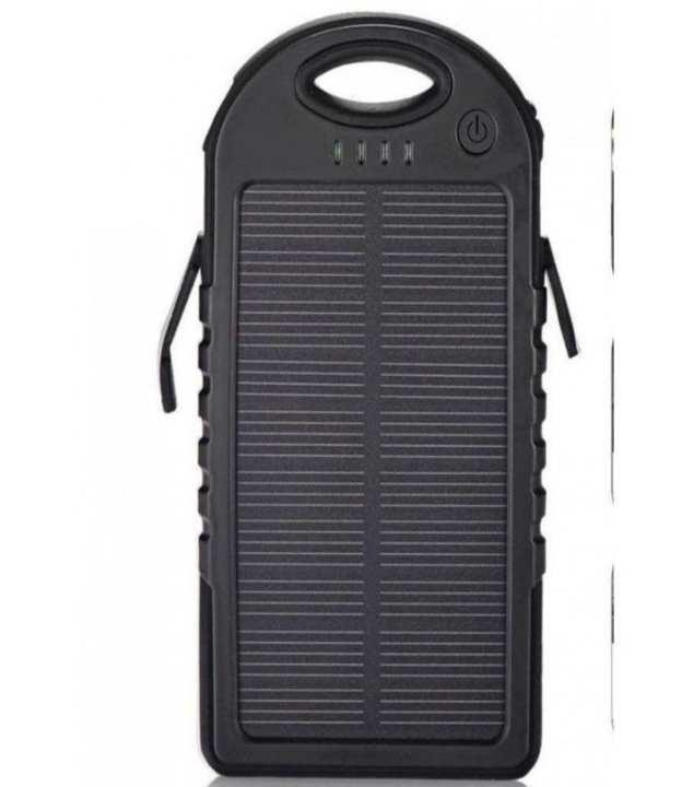 Solar Power Bank - 12000mAh - Black