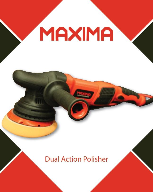 DUAL ACTION POLISHER - 900 WATTS - 15MM ORBITAL