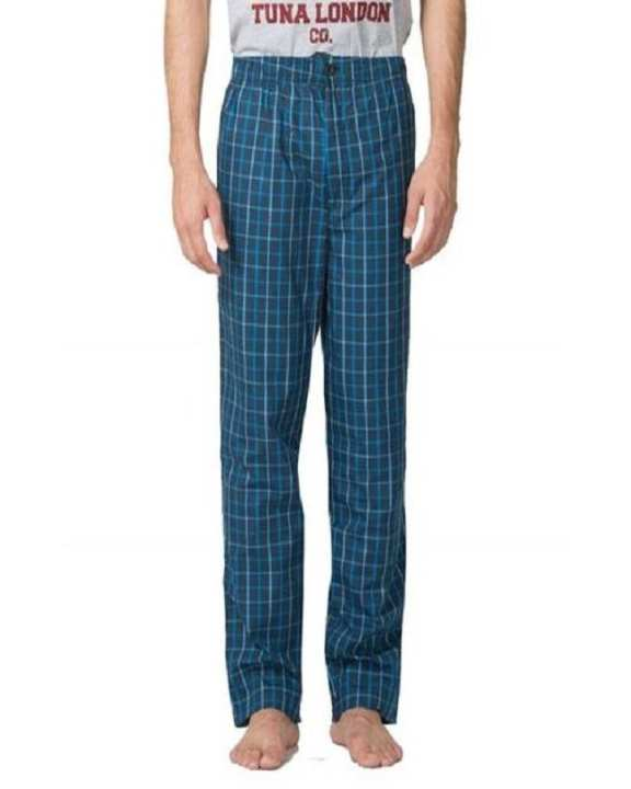 Cotton Checkered Pajamas