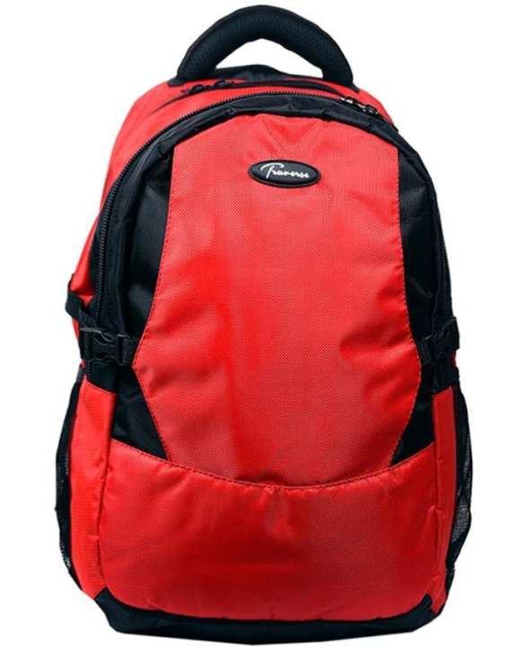 Red Laptop Backpack, School/ College Bag
