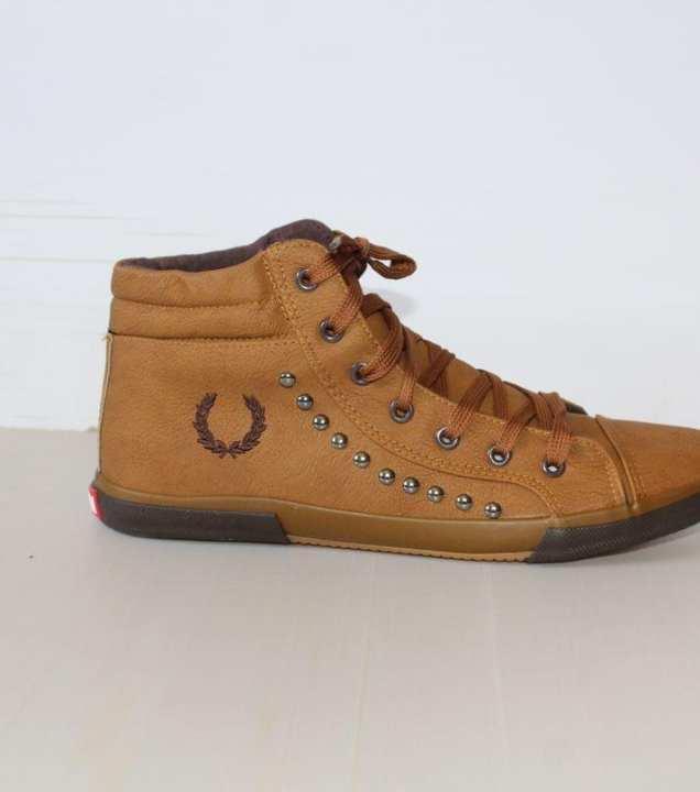 Brown Sneakers Foot Wear For Men