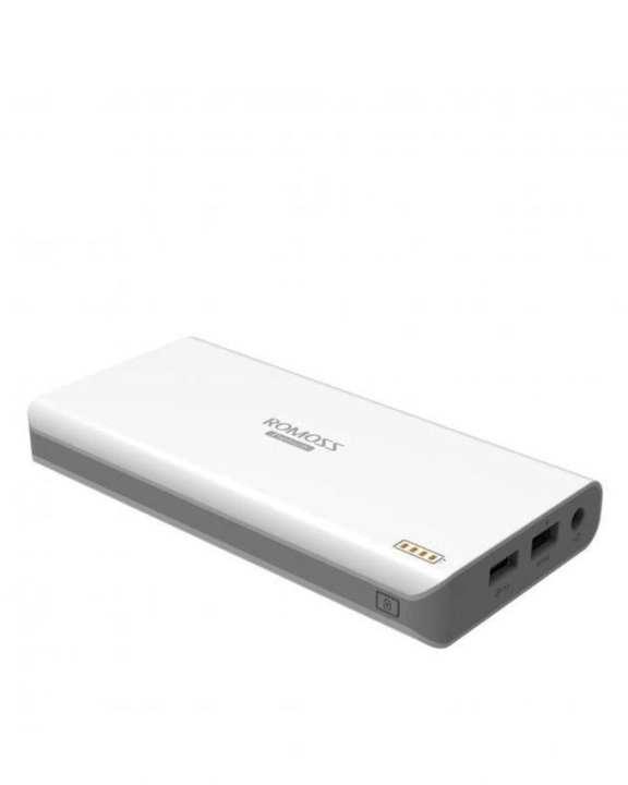 Power Bank - Romoss Eusb Sofun 6 15600 mAh for Laptop - White