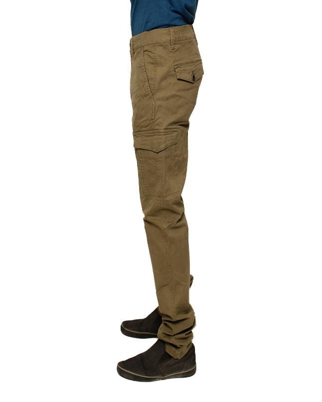Green Cotton Trouser for Men - ZC5062