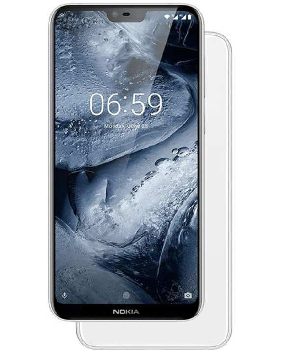 6.1 Plus - FHD+ Display - 4GB RAM - 64GB ROM - Android One - White