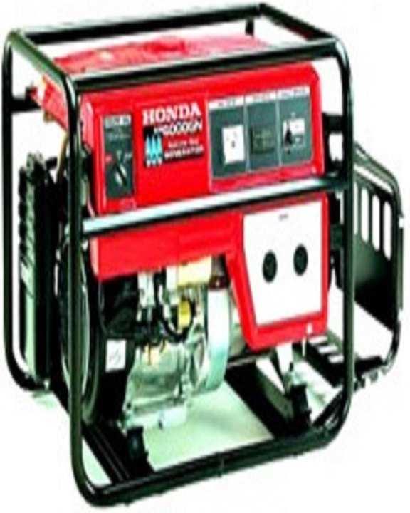 EM 6000 GN - Natural Gas Generator - Black & Red