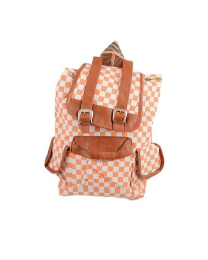 Rexine Backpack School Bag Notebook Bag Laptop Bag Travel Bag For School  And College - 15X17 54fcec4ce5