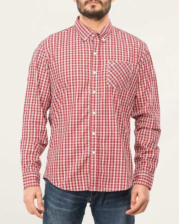 Button Down Shirt Mellow Buff-Special Online Price