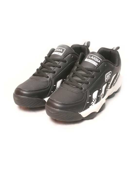 Sports Shoes For Boys In Black And White