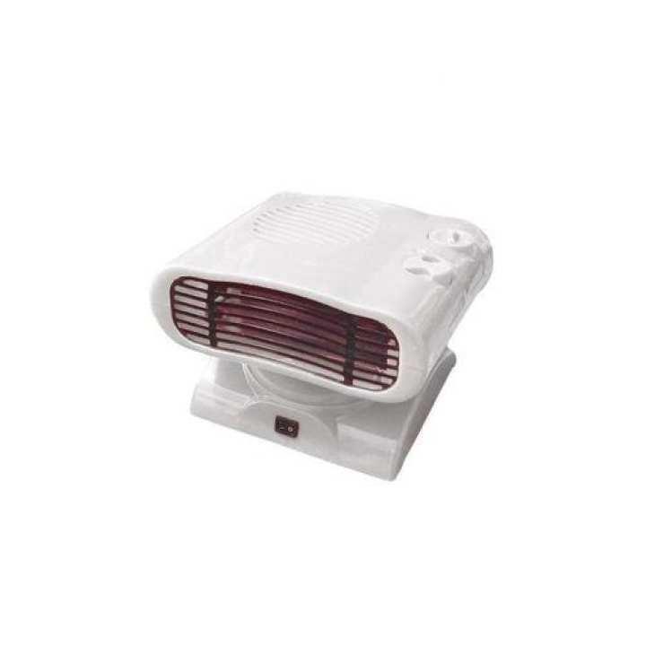 CM Adjustable Electric Fan Heater - White