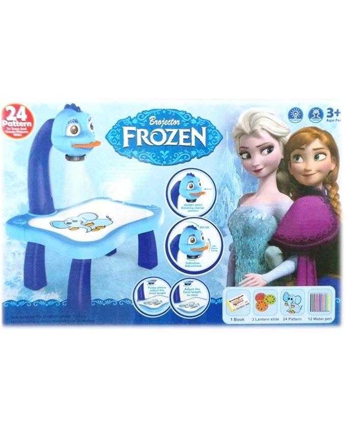 Frozen Projector Desk - Multicolour