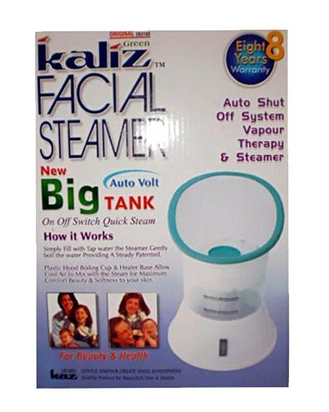 Facial Steamer with Big Tank - White & Green