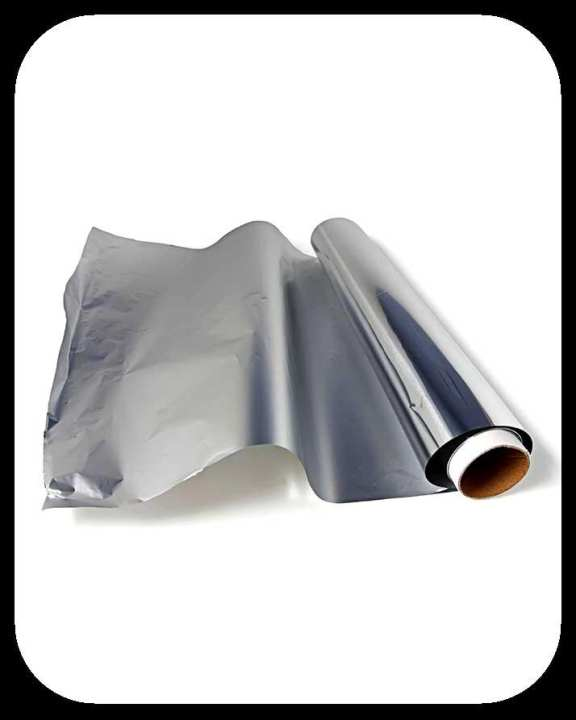 Tandy Imported Aluminium Foil Sheets Heavy Duty - Imported Aluminum Foil Baking Paper Roll BBQ Food Grease proof Liner Pot Pan Cooking Baking Sheet