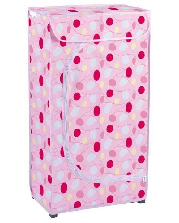 Multipurpose Folding Cupboard - Pink