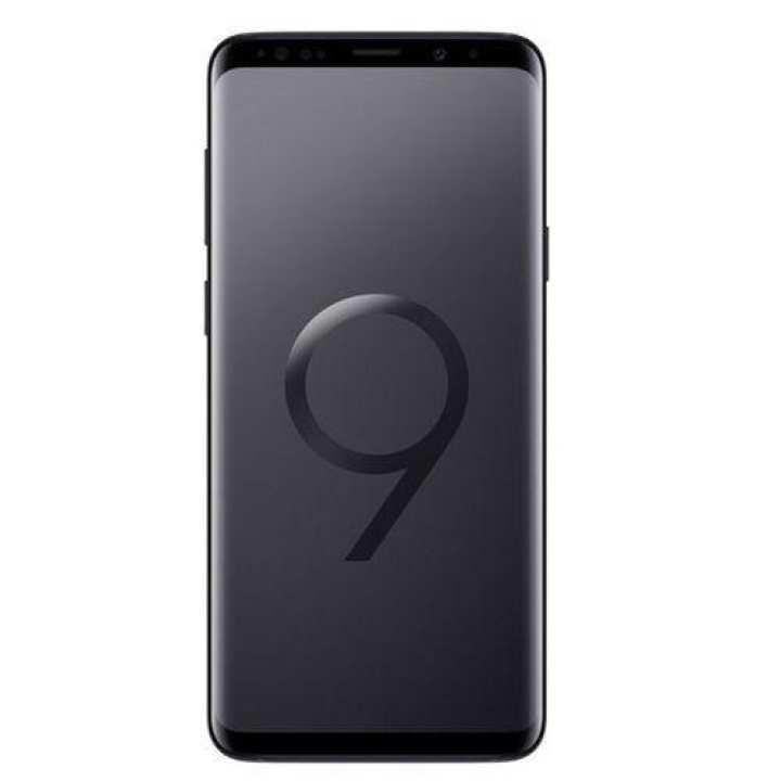 """Galaxy S9+ - 6.2"""" QHD+ - 6GB RAM - 128GB ROM - 12/12/8MP Camera - Midnight Black"""